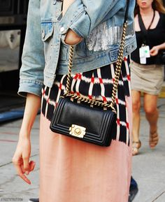 Chanel Boy Bag... #Wants
