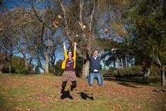 spoof engagement photo shoot- this looks like fun!