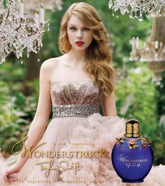 taylor swift wonderstruck I kinda want this perfume even though i dont really like her.
