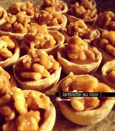 Tortinhas de Nozes com Caramelo