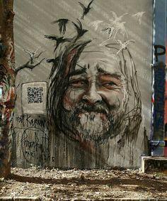 Herakut paints a new piece in Paris for Proj256 2015