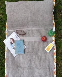 Strandmatten-Tasche aus Handtüchern