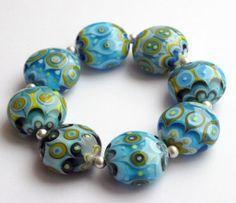 oriental bracelet  Unikal Glasdesign