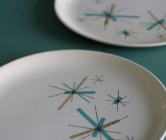 North Star pattern Salem plates. I used to have some teacups in this pattern.