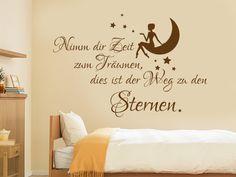 Wandtattoo Zeit Zum Träumen Wandtattoo Fürs Schlafzimmer. Nimm Dir Zeit Zum  Träumen, Dies Ist