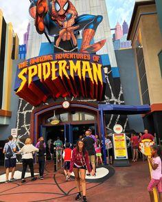 Spider-man Spider-man #islandadventure #Orlando #Florida #USA #Vacation by fernanda_alopes