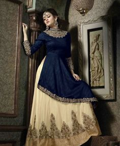 Women's Clothing Sweet-Tempered Designer Royal Jacket Gown Long Suit Indian Pakistani Dress Party Anarkali Gowns