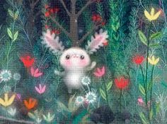 I like the ears and the colors. Lisa Evans :)