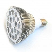 Høj kvalitets 18W E27 LED Vækstlampe