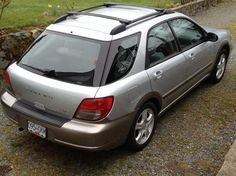 subaru impreza tire size 2005