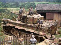 Tiger in der Normandie I
