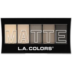 (3 Pack) L.A. Colors Matte Eyeshadow Nude Suede -- Details can be found by clicking on the image. (This is an affiliate link) #EyeMakeup