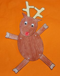 How to make a dancing Rudolph