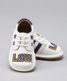 Look at this #zulilyfind! Louisiana State Tigers Squeaker Sneaker #zulilyfinds