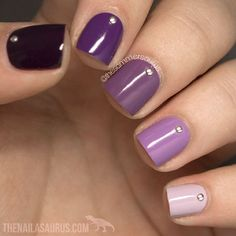 + Trendy Options for Ombre Nails For Any Occasion ★ See more: https://naildesignsjournal.com/ombre-nails-colorful-combinations/ #nails