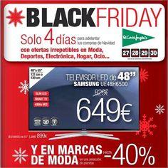 Catalogo de #ElCorteIngles #BlackFriday2014 España