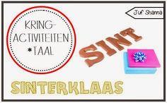 Taal: Juf Shanna: Thema Sinterklaas: kringactiviteiten (taal)