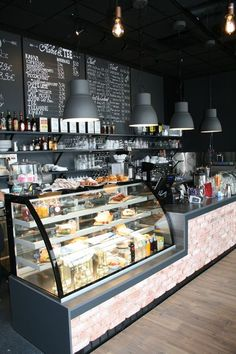 Super design interior cafe coffee shop bar IdeasYou can find Coffee shop design and more on our website. Coffee Shop Counter, Cafe Counter, Coffee Shop Bar, Coffee Store, Restaurant Counter, Cofee Shop, Rustic Coffee Shop, Cute Coffee Shop, Small Coffee Shop