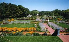 Munsinger Gardens and Clemens Gardens. St. Cloud, MN