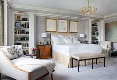 great art deco master bedroom %E2%80%93 by ace   107 Best Beautiful Interiors - Cullman and Kravis images ...