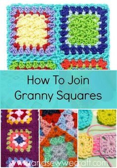 Crochet for Beginners- Joining Granny Squares