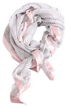 $110.00, Mind of Line Silk Scarf