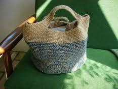 麻ひもとリネン糸で編むバッグ - Google 検索