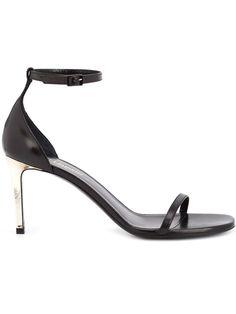 SAINT LAURENT 'Jane 80' Sandals. #saintlaurent #shoes #