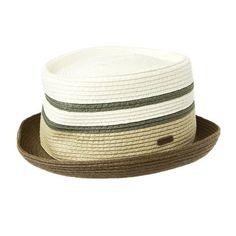 a7134bd36616e5 Kangol K1313FA Mens Stripe Braid Pork Pie Hat at Amazon Men's Clothing store :