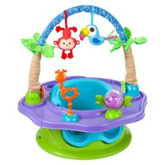 Summer Infant Island Giggles Deluxe 3-in-1 Activity and Booster SuperSeat   (cannot wait for her to try it :))