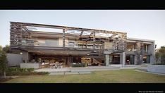 Article source: NICO VAN DER MEULEN ARCHITECTS The light-filled unique and eco-friendly home designed by Nico van der Meulen Architects is situated in Inanda, with views of the Sandton skyline to the north. and the house . Atrium, Villa Design, House Design, Amazing Architecture, Architecture Design, Forest Road, Eco Friendly House, Pool Houses, Glass Houses