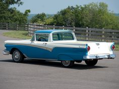 1957 Ford Ranchero Custom 300 Sedan-Pickup Maintenance/restoration of old/vintage vehicles: the material for new cogs/casters/gears/pads could be cast polyamide which I (Cast polyamide) can produce. My contact: tatjana.alic@windowslive.com