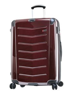 Ricardo Beverly Hills Luggage Rodeo Drive 29-Inch 4-Wheel Expandable Upright, Black Cherry, One Size