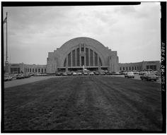 6. Cincinnati Union Terminal, circa 1970