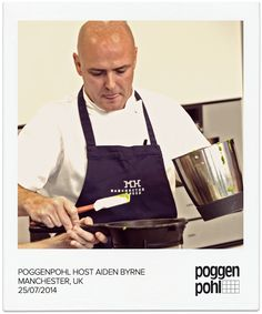 Poggenpohl Host Chef Aiden Byrne in Manchester