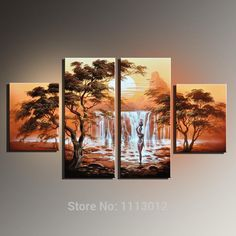 Cheap picture engraved, Buy Quality art abstract pictures directly from China picture modern art Suppliers: Frameless Sale Handmade Oil Painting Canvas African Nude Women Modern 4 Piece Wall Art Home Decoration Picture For Living Room Oil Painting Pictures, Abstract Pictures, Oil Painting On Canvas, Art Pictures, Canvas Wall Art, Afrique Art, Picture Engraving, Decorating With Pictures, Decorating Tips