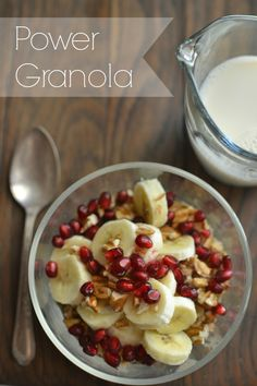 Our Neck of the Woods: Power Granola