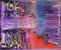 abstract with purple # 12, Harry Moody