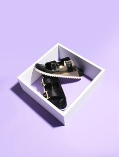 Still life Summer minimal shoes ASAP PARIS on Behance © Clémence Dubois & Anaïs Deschamps