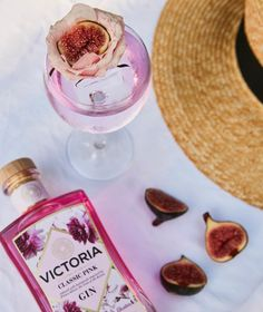 """Victoria Gin on Instagram: """"Add a touch of luxury to your G&T, make it a V&T! #itsvictoriatime"""" Gin, Alcoholic Drinks, Victoria, Touch, Luxury, Bottle, Glass, How To Make, Instagram"""