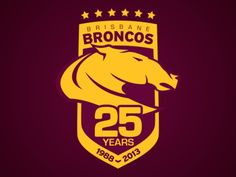 Brisbane Broncos 25 Years