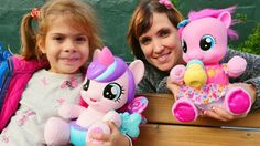 #ЛитлПони. Видео для девочек с игрушками пони - игры Дружба это чудо с М...