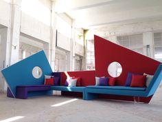 MICROmega Design Roberto Romanello  #adrenalina2016 #robertoromanello #designweek2016 #salonedelmobile #wearedifferent #weplaywithcolor #orangefurniture