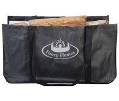 Fancy Flames Log Carrier Bag by Fallen Fruits. Garden. Fireplace. Brand New  Visit...The Ginger Sheep £9.99