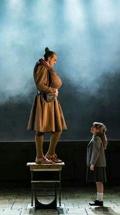 Tasha Chapple in Matilda the Musical West End