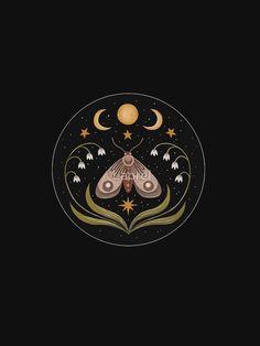 Butterfly Illustration, Moon Illustration, Bauch Tattoos, Poster S, Moon Art, Art Inspo, Fantasy Art, Art Drawings, Art Prints