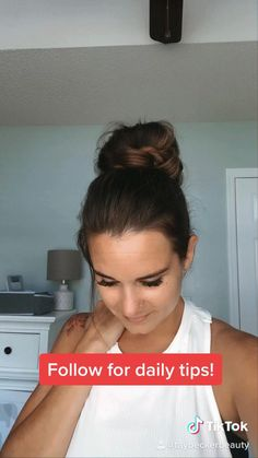 Perfect messy bun for a lazy day!! Bun Hairstyles For Long Hair, Pretty Hairstyles, Hairstyles For Nurses, Quick Work Hairstyles, Easy Teen Hairstyles, 2 Buns Hairstyle, Banana Clip Hairstyles, Running Late Hairstyles, Athletic Hairstyles