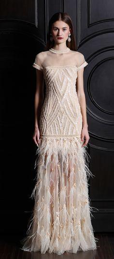Naeem Khan Pre-Fall 2013 Fashion Show - Vika Kukandina Naeem Khan, Couture Fashion, Fashion Show, Fashion Design, Evening Dresses, Formal Dresses, Wedding Dresses, Fashion Fotografie, Foto Fashion