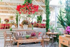 Destination wedding: arranjo suspenso - Foto Juliana Kneipp Fotografia e Maria Toscano