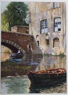 Canal à Bruges, Henri Cassiers